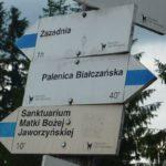 Szlaki na Rusinowej Polanie, zdj. Waldemar Rusek