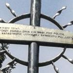 Krzyż pod szczytem Policy upamietniający ofiary katastrofy w 1969 r., zdj. B. Szatan