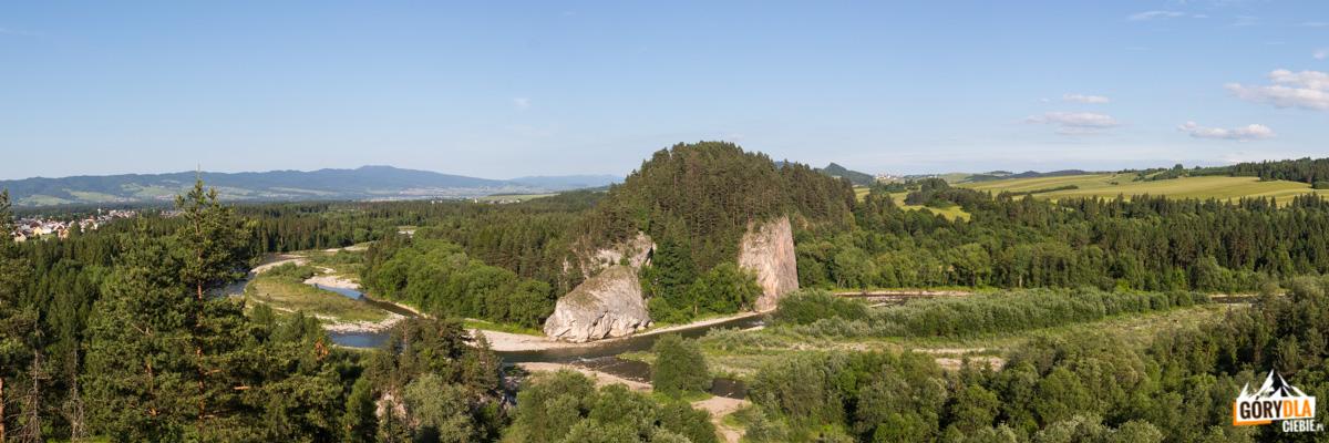 Kramnica (688 m) i i Obłazowa (670 m)
