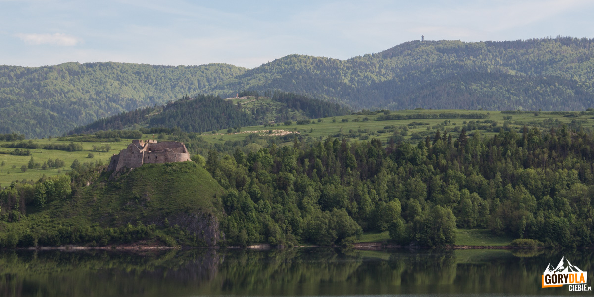 Zamek wCzorsztynie