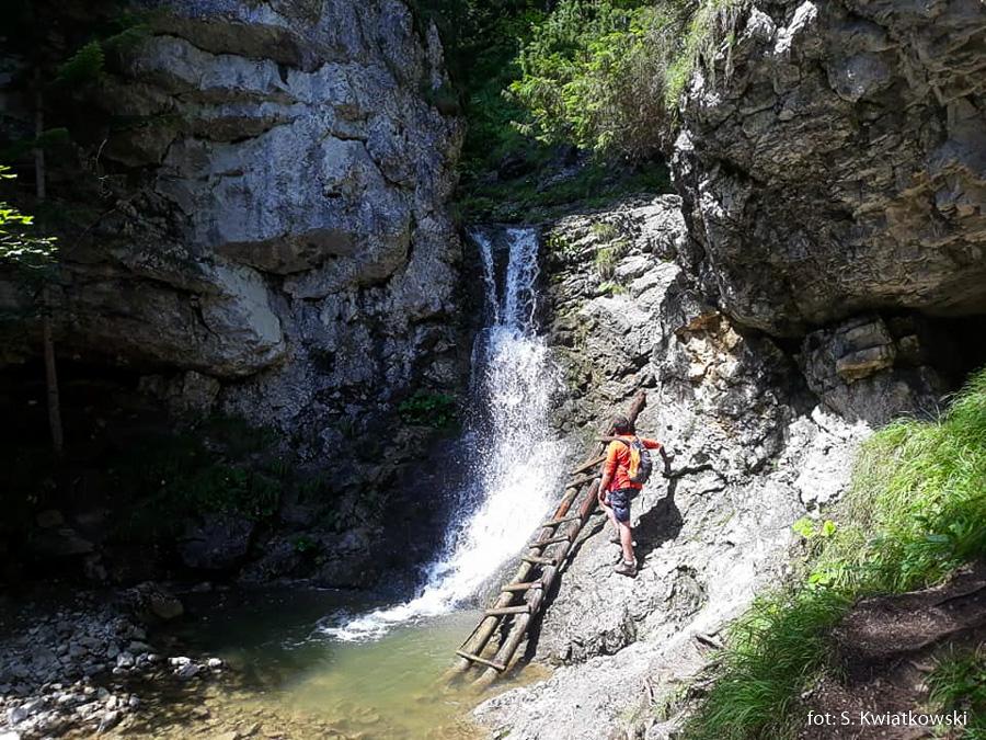Wodospad Roztocki, zdj. S. Kwiatkowski