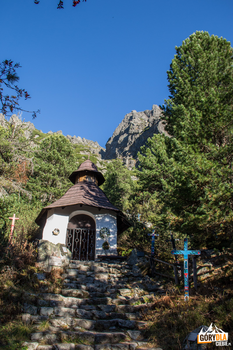 Kaplica na Tatrzańskim Cmentarzu Symbolicznym pod Osterwą