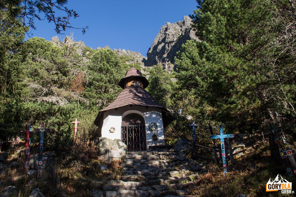 Kaplica naTatrzańskim Cmentarzu Symbolicznym podOsterwą