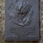 Tatrzański Cmentarz Symboliczny pod Osterwą - tablica Mieczysława Karłowicza