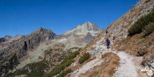 Podejście na Przełęcz pod Osterwą