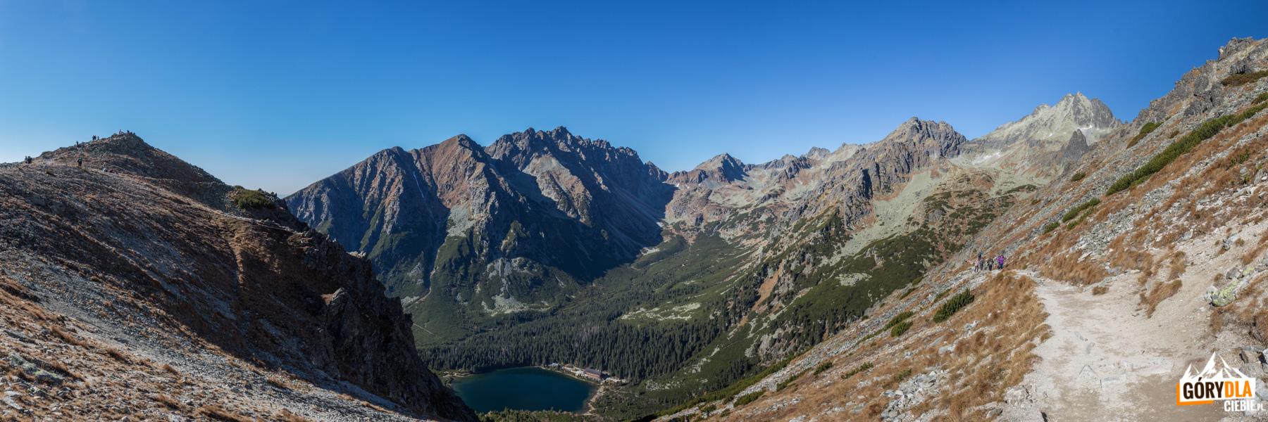 Panorama z Przełęczy pod Osterwą