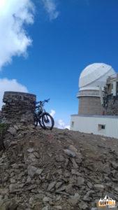 Obserwatorium na Pic du Midi de Bigorre (Pireneje)