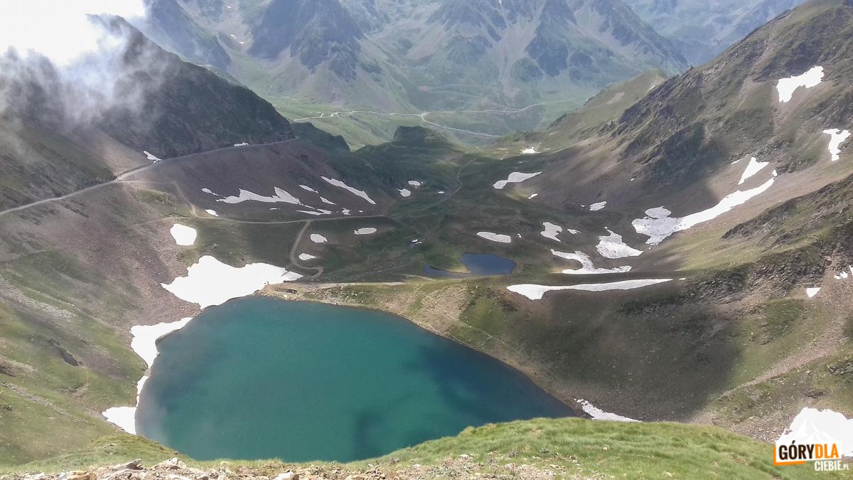 Jezioro Lac d'Oncet (Pireneje)
