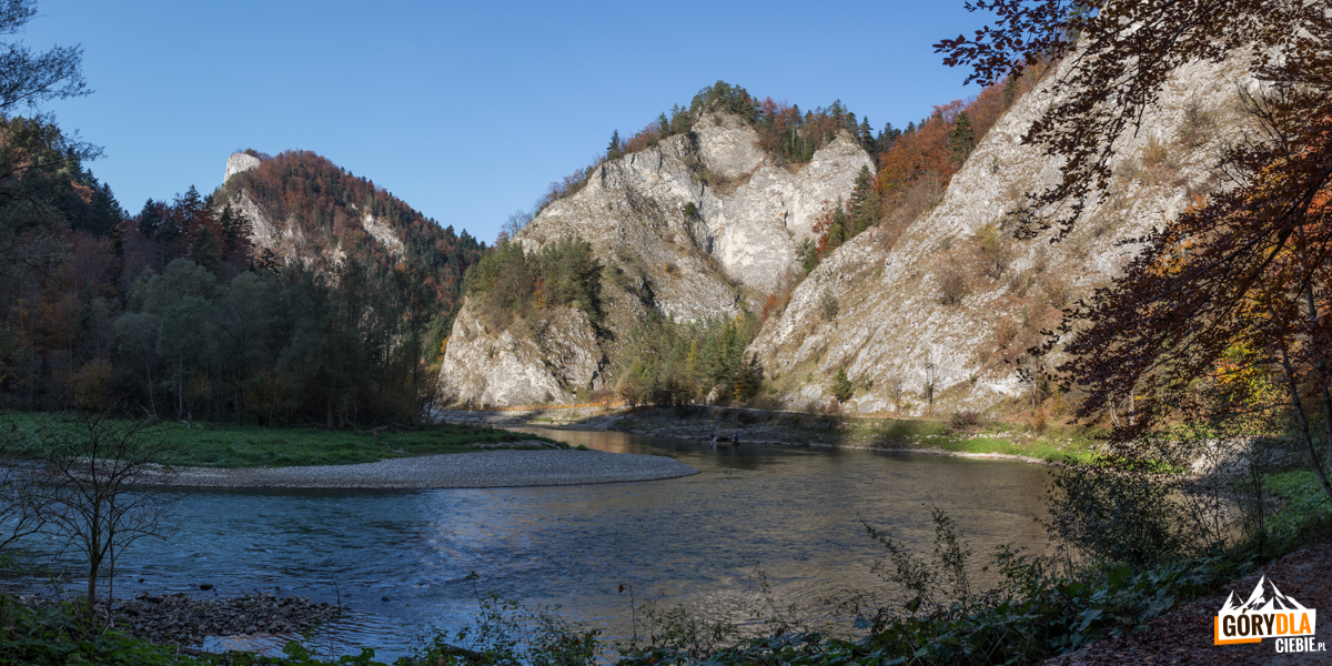 Przełom Dunajca i pienińskie turnie