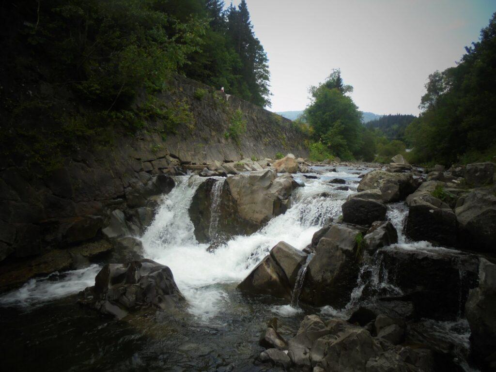 Wodospad Spad - zdj. Maciej Tański