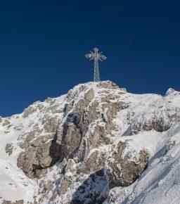 Krzyż na szczycie Giewontu