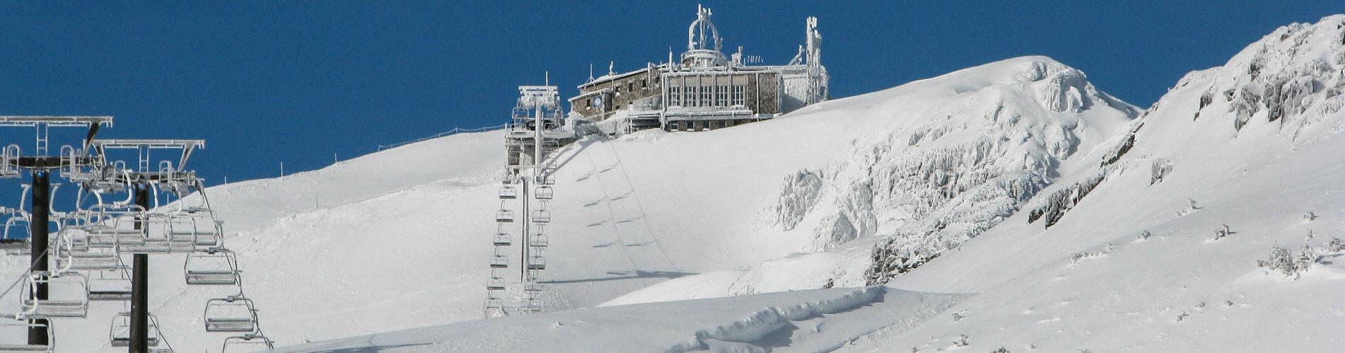 Kasprowy narty zima