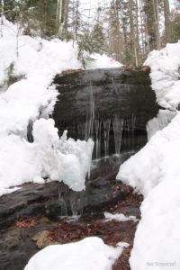 Wodospad Dusiołek - największy wodospad w Beskidzie Małym