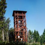Wieża widokowa i wiata turystyczna na szczycie Eliaszówki (1024 m)