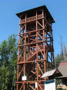 Wieża widokowa na szczycie Eliaszówki (1024 m)