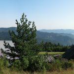 Widoki z drogi zielonego szlaku na Eliaszówkę
