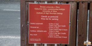 Parking w Tatrzańskiej Jaworzynie