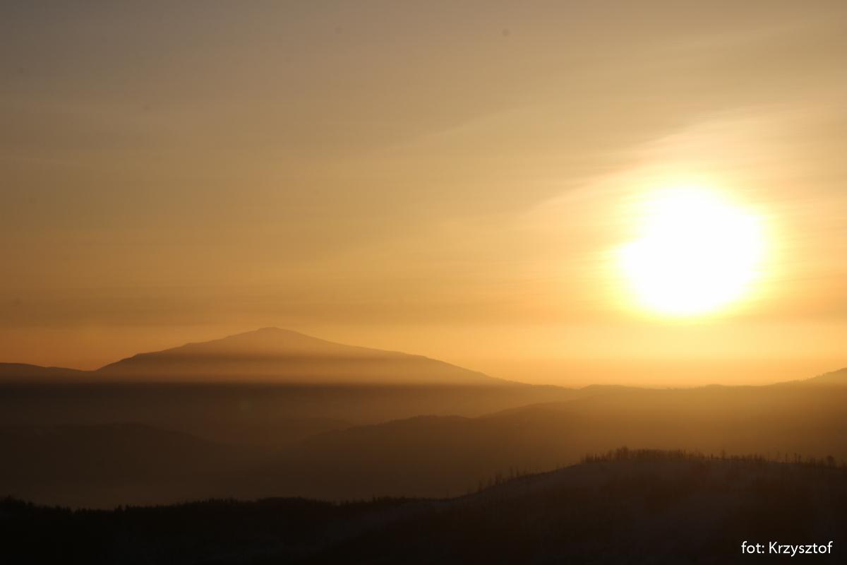 Wschód słońca na Malinowskiej Skale, zdj. Krzysztof R.