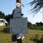 Zielony szlak na Eliaszówkę i czerwony w dół do Kosarzysk
