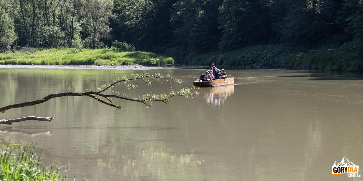 Przeprawa przez Dunajec pod Sokolicą