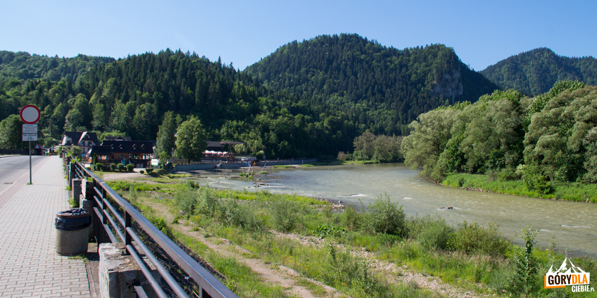 Szczawnica - przystań flisacka kończąca spływ Dunajcem