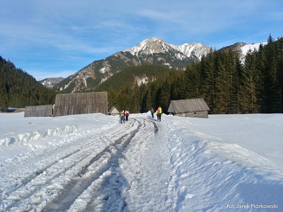 Dolina Chochołowska zimą, zdj. Jarek Piórkowski