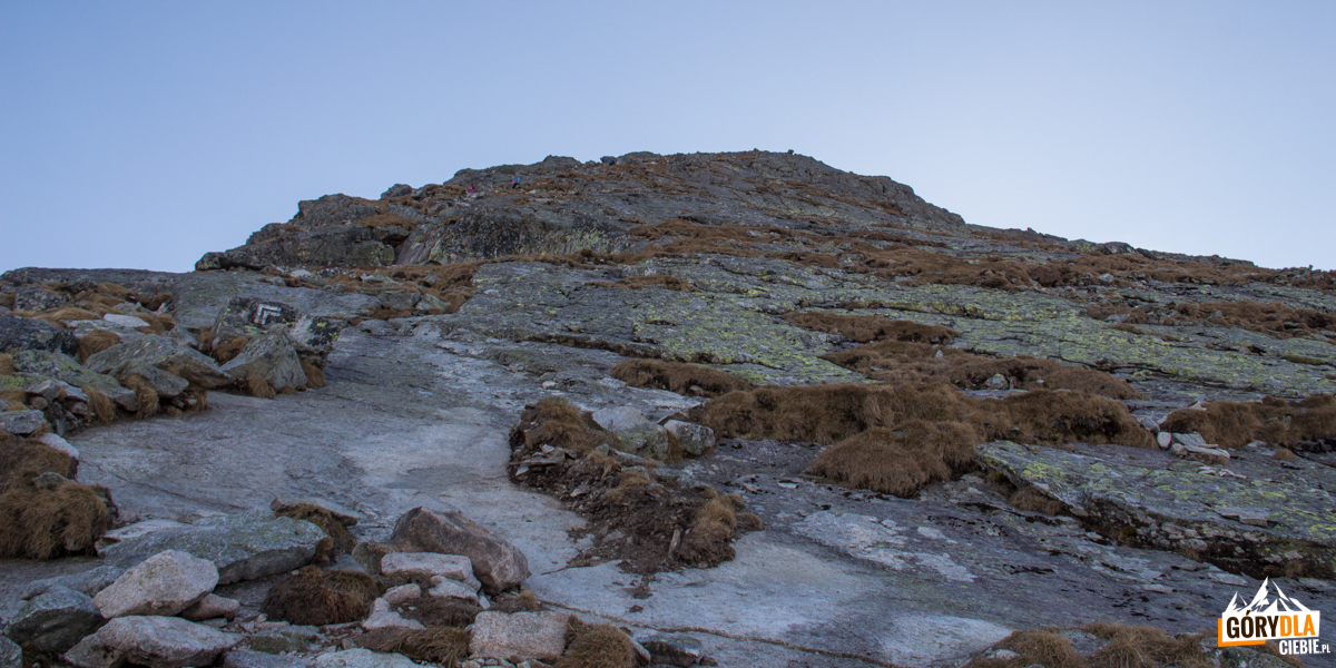 Szlak na szczyt Kościelca