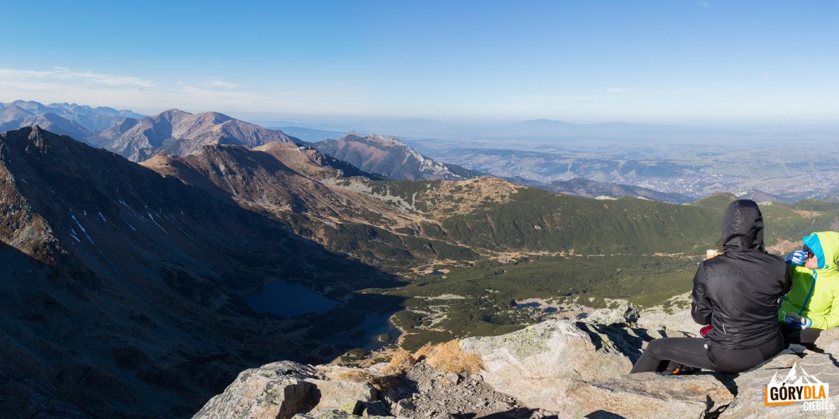 Na szczycie Kościelca (2155 m)