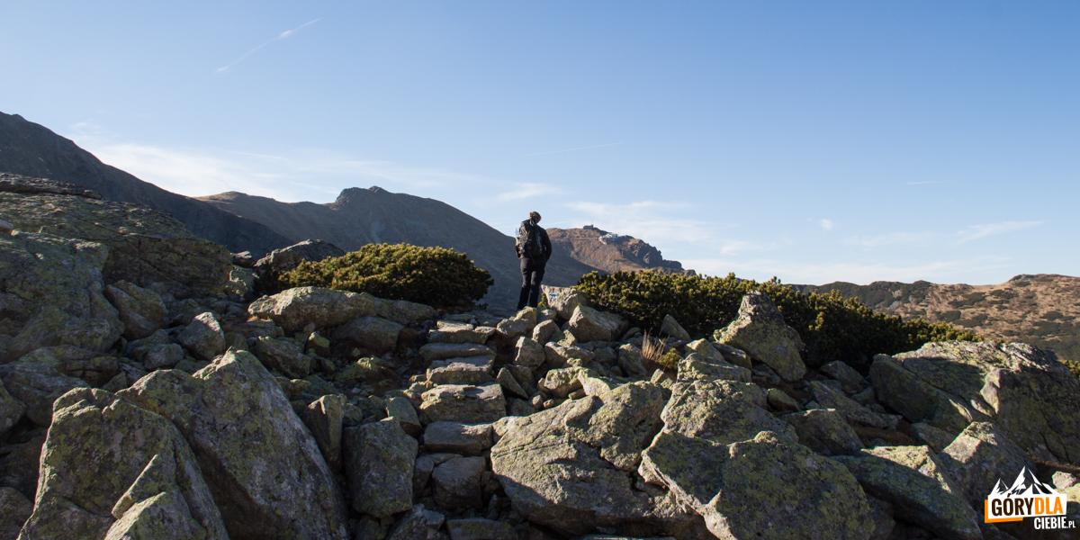 Na trasie niebieskiego szlaku od przełęczy Karb do Doliny Zielonej Gąsienicowej