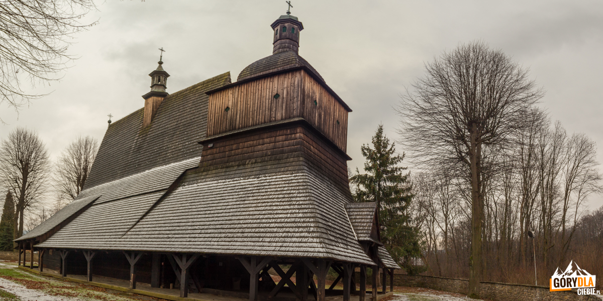 Kościół w Sękowej pod wezwaniem św. Filipa i św. Jakuba