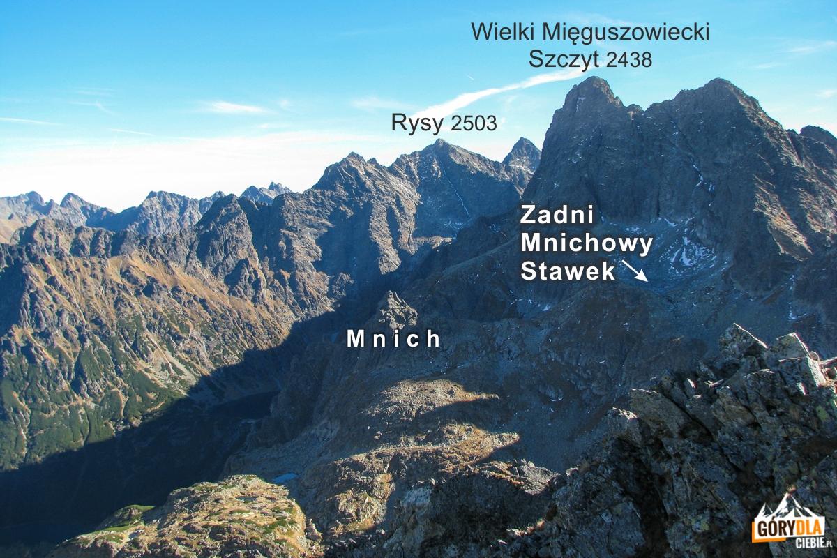 Zadni Mnichowy Stawek