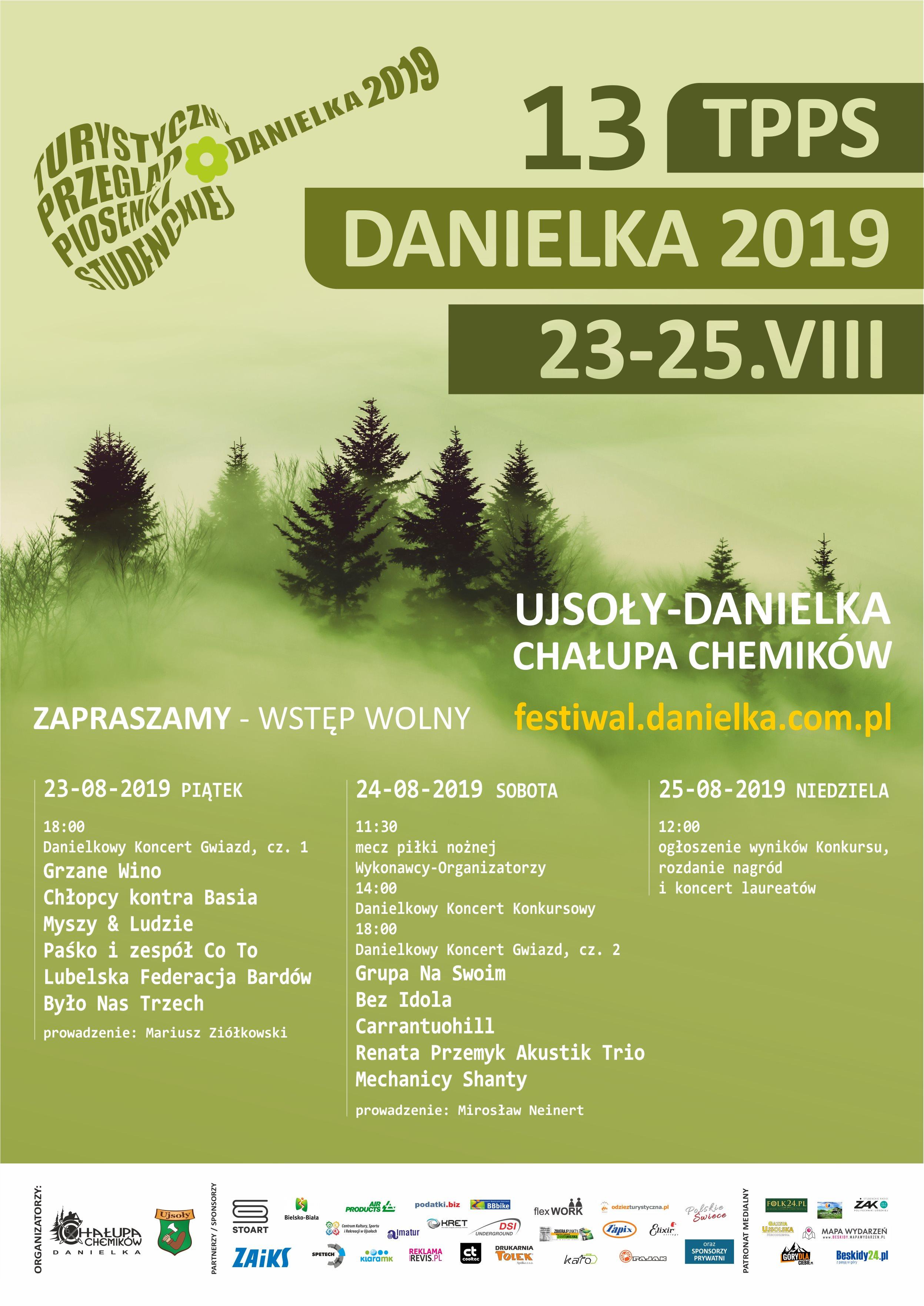 DANIELKA 2019 plakat