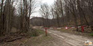 Droga żółtego szlaku na Baranie (słow. Stavok) 754 m.