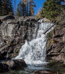 Hrebienok i Wodospady Zimnej Wody