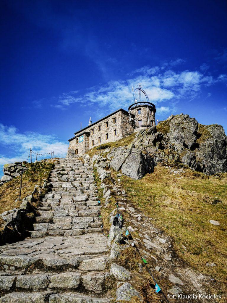 Obserwatorium na Kasprowym Wierchu, zdj. Kaudia Kociołek