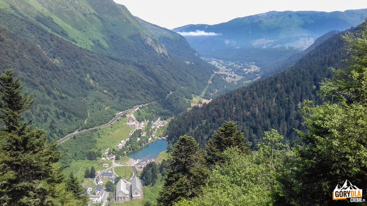 Col du Tourmalet - trasa wyścigu kolarskiego Tour de France