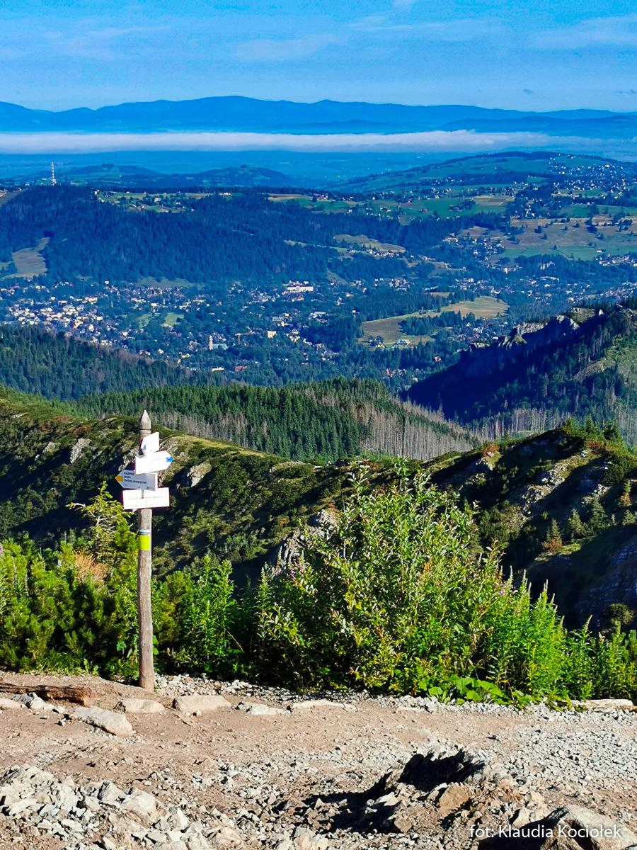 Przełęcz między Kopami - w drodze na Halę Gąsienicową