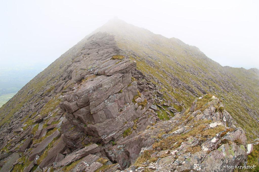 Podejście na szczyt Cruach Mhór 923m
