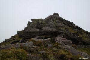 Kapliczka na szczycie Cruach Mhór (923m)