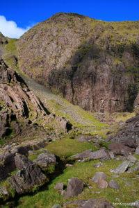 Najwyżej położone w Irlandii jezioro Lough Cummeenoughter