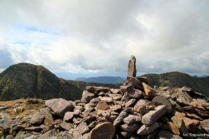 Szczyt i widoki z Beenkeragh (1008 m)