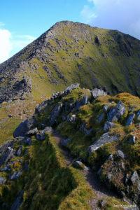 Podejście na Beenkeragh (1008 m)
