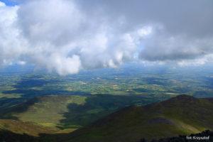 Widoki z Beenkeragh (1008 m)