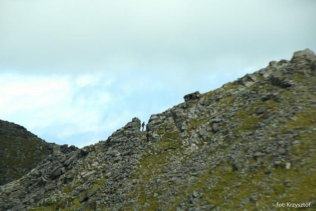 Podejście na szczyt Carrantuohill (1039m) od strony Beenkeragh
