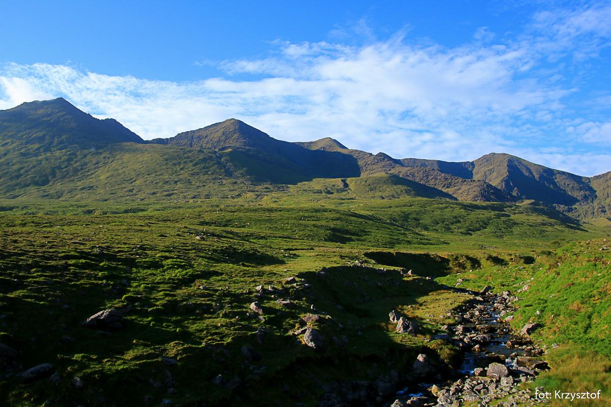 Widoki na wschodnie otoczenie doliny Hags Glen