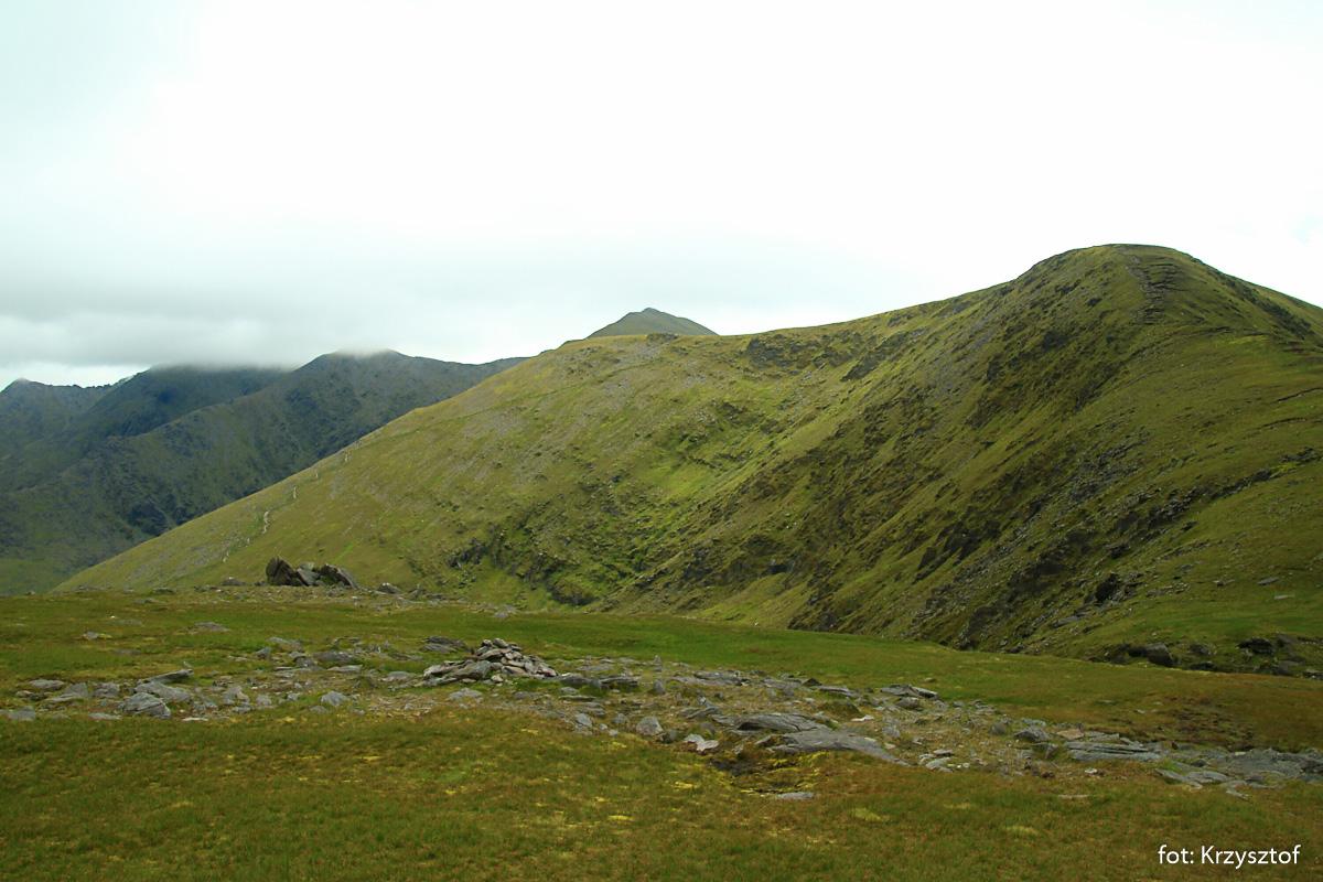 Powrót przez Cnoc na Toinne (845 m)