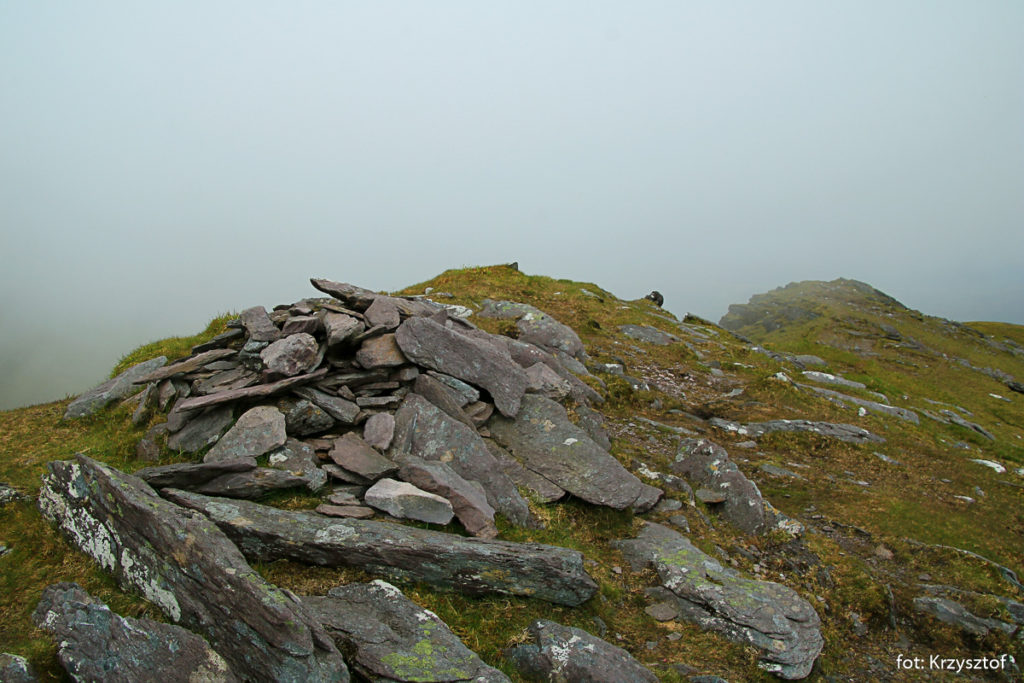 Szczyt Maolan Bui (973 m), niestety we mgle