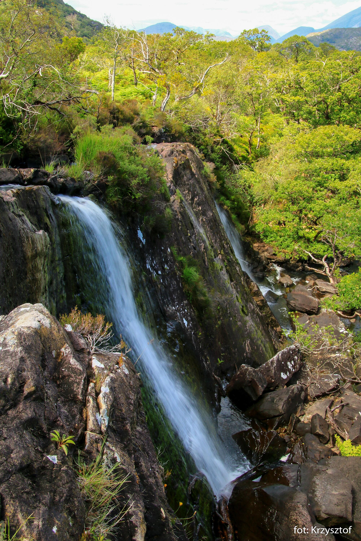 Wodospady na rzece Crinnagh