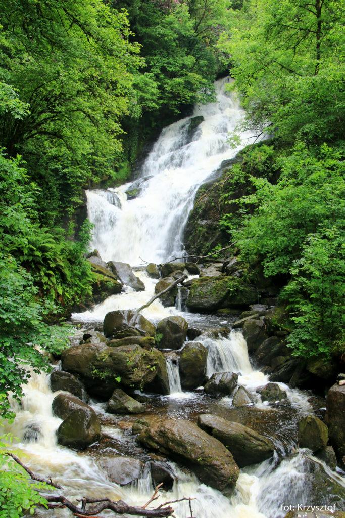 Wodospad Torc - początek naszej trasy