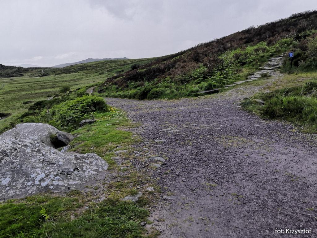 W drodze na szczyt Torc